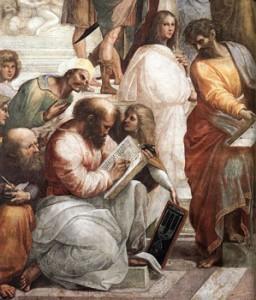 RTEmagicC pytha.jpg 256x300 Petite histoire des mathématiques 1ere partie : Thalès et Pythagore, les fondateurs