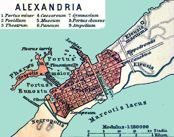 Alexandria Petite histoire des mathématiques, 2e partie : DAthènes à Alexandrie