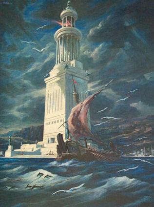 phare alexandrie Petite histoire des mathématiques, 2e partie : DAthènes à Alexandrie