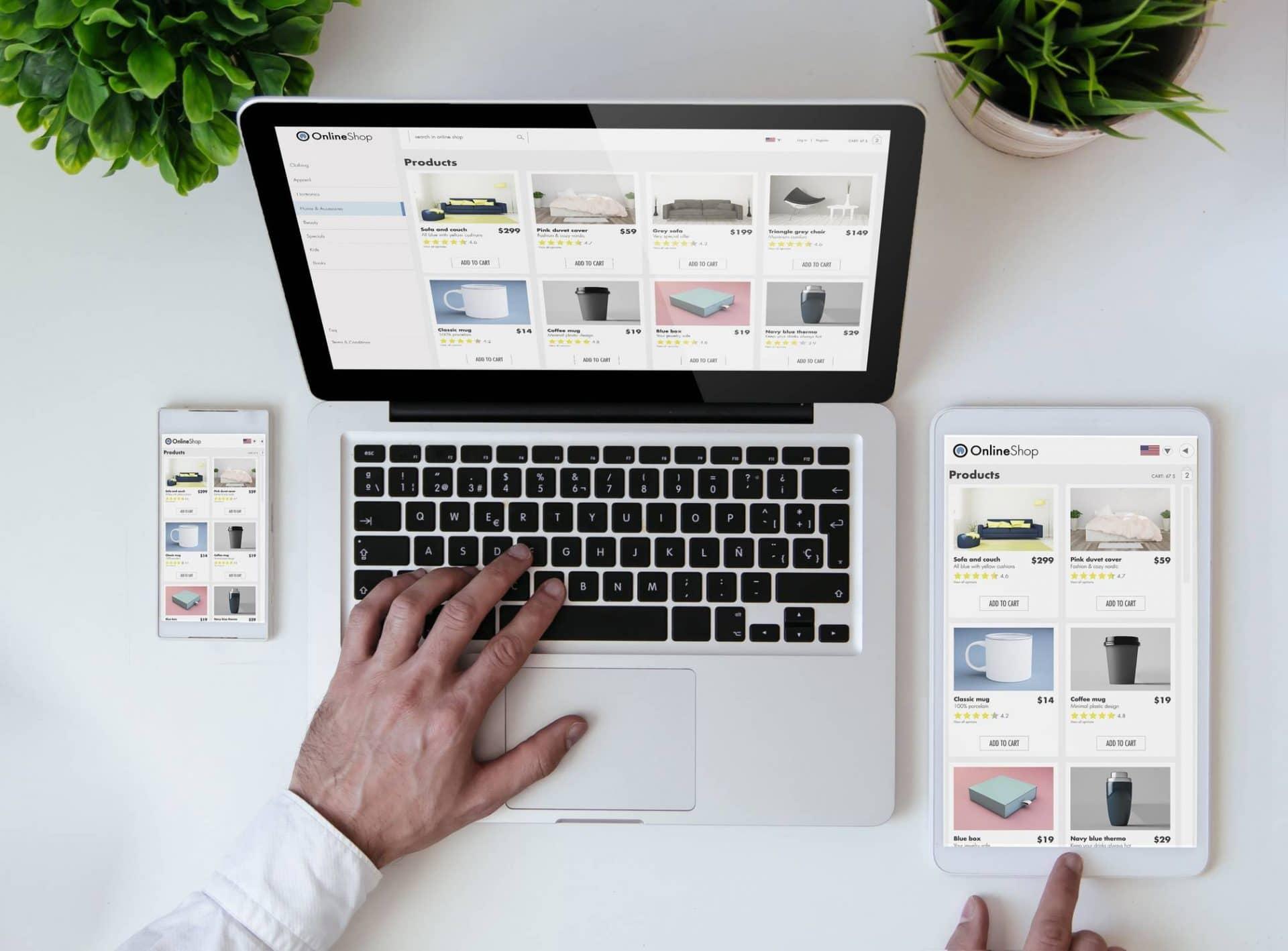 site e commerce héberger