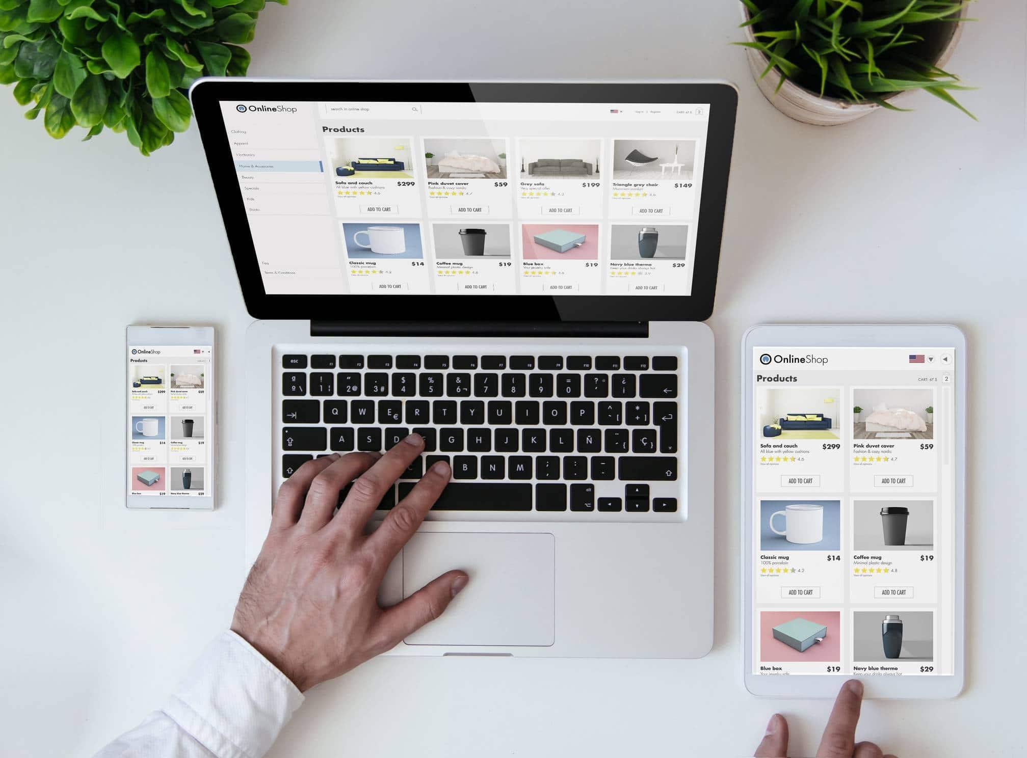 e-commerce vente click and collect