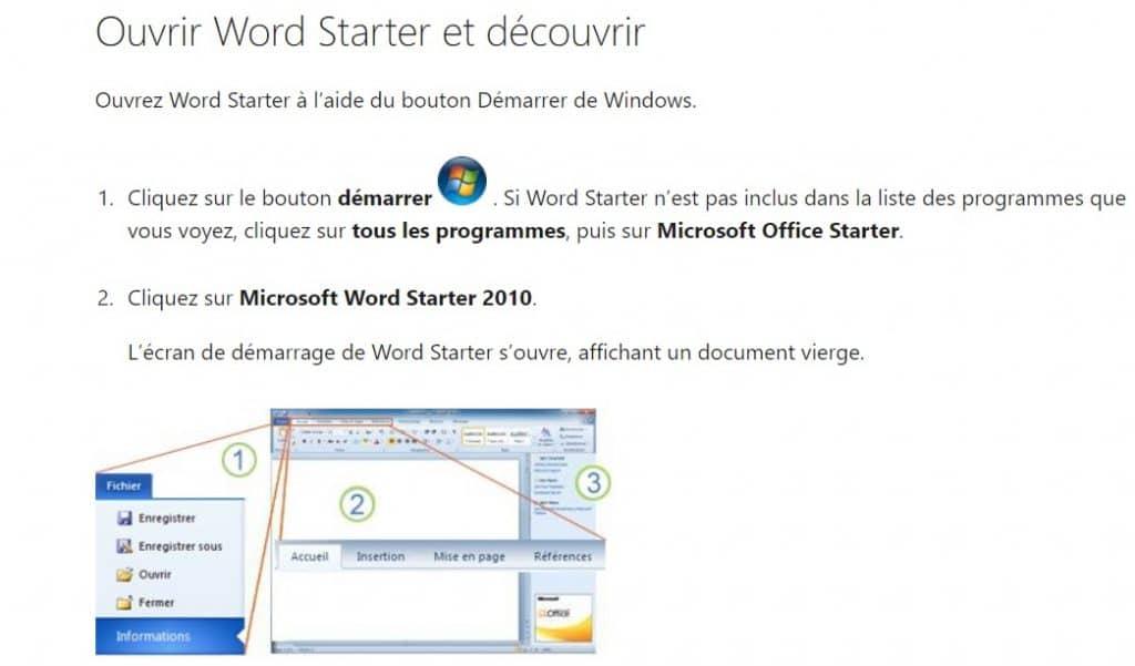 Office 2010 Starter : pour un téléchargement gratuit et légal de Word et Excel