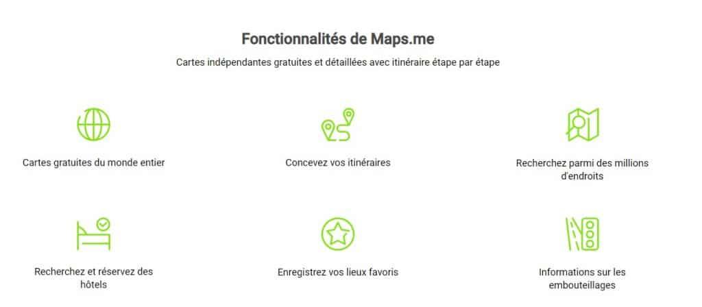 Comment entrer des coordonnées GPS dans Maps Me ?