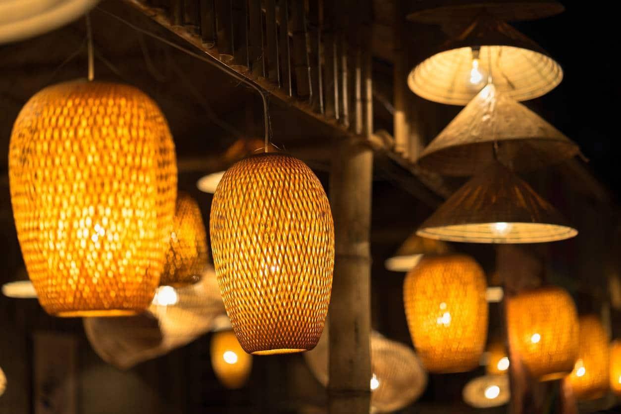 salon industriel, le choix des éclairages