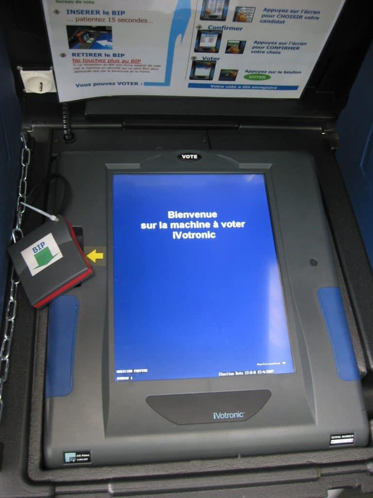 La machine à voter : s'inspirer du modèle américain ?