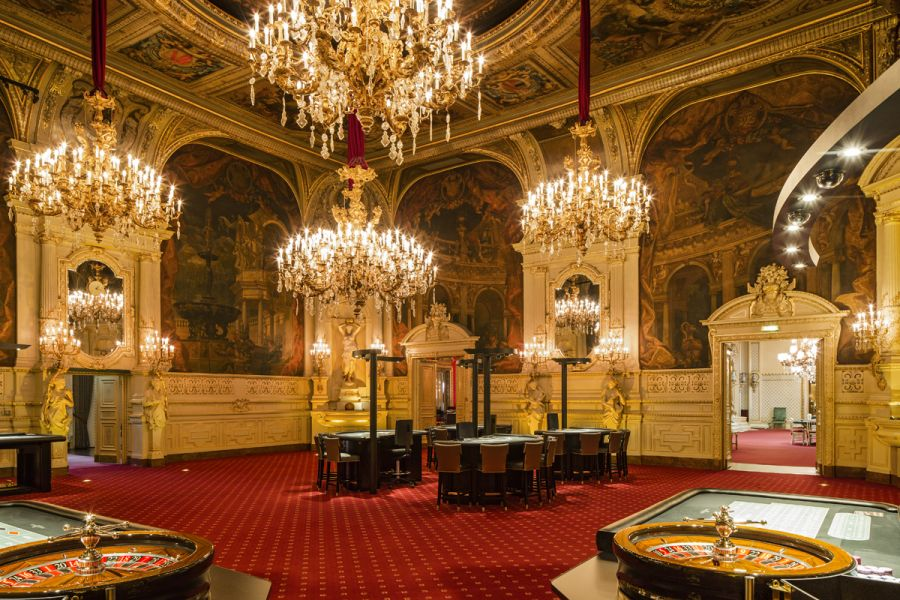 1/Le Casino de Baden-Baden en Allemagne